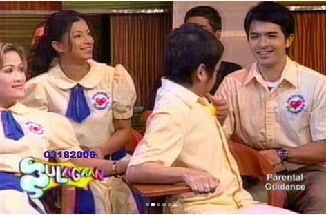 Throwback: Angel Locsin At Eat Bulaga's Bulagaan Segment
