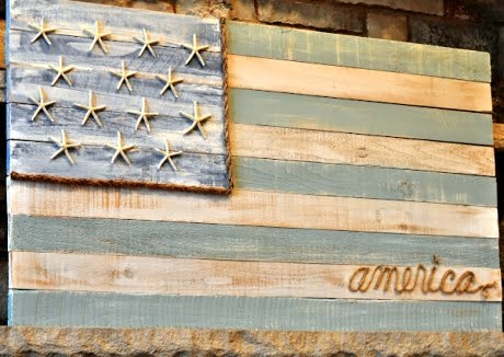 American coastal flag