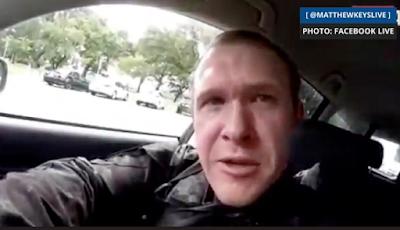 """فيديو وصور.. منفذ حادث مسجد """"كرايست تشيرش في نيوزيلندا"""" يبث فيديو مباشر للجريمة"""