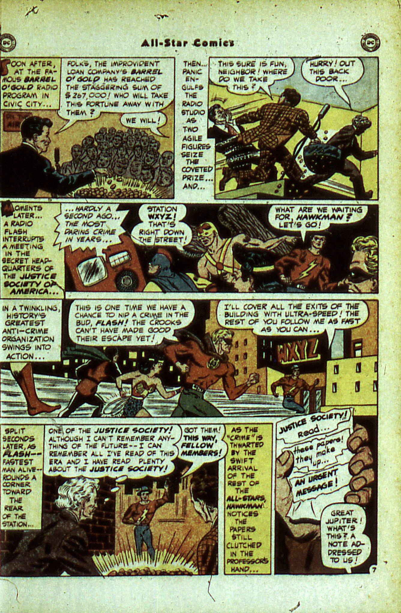 Read online All-Star Comics comic -  Issue #56 - 9