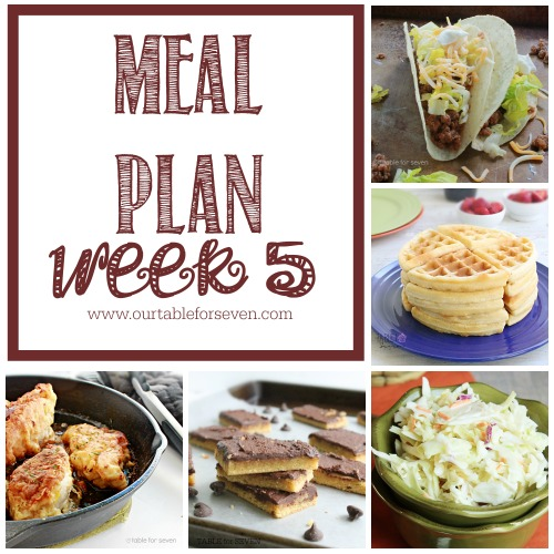 Meal Plan: Week 5