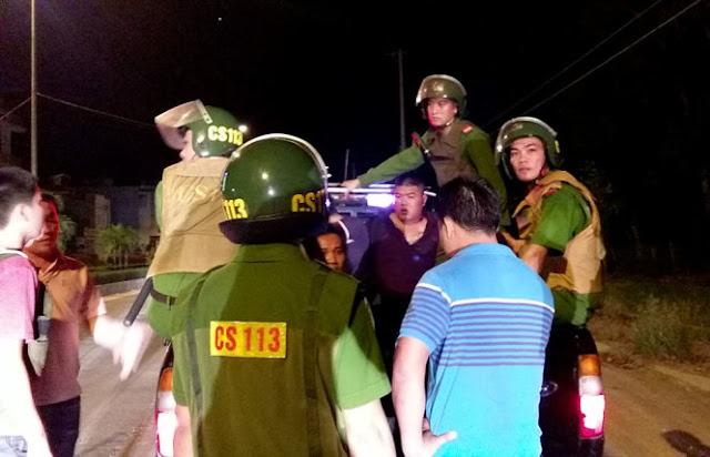 Quảng Ngãi Cả đoàn xe hẹn quyết đấu và nổ súng trong đêm