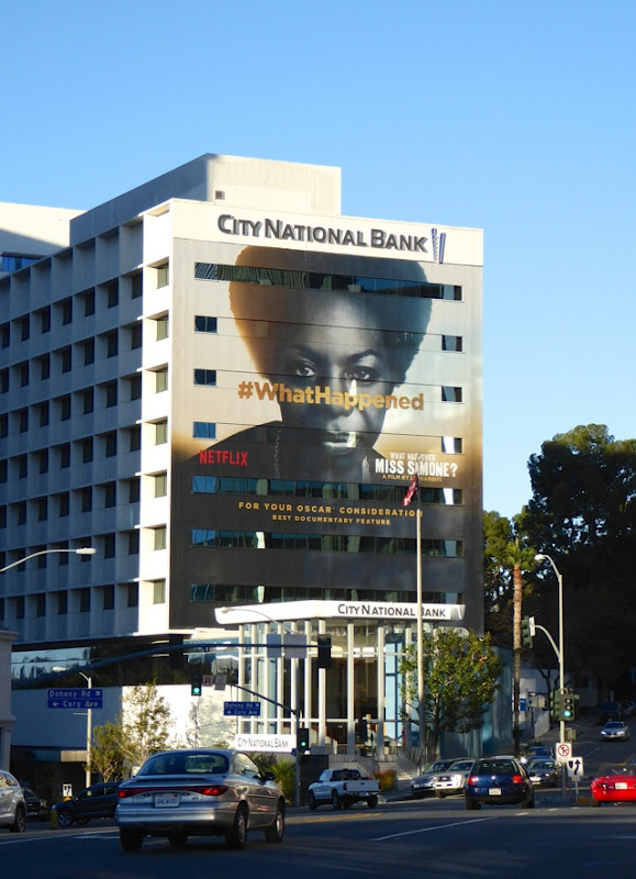 What Happened Miss Simone Oscar billboard