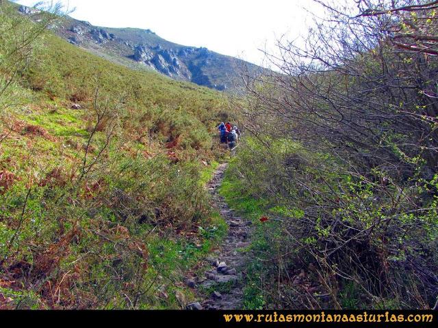Ruta Retriñon: Trayecto al Mayaín, menos árboles y más matorral