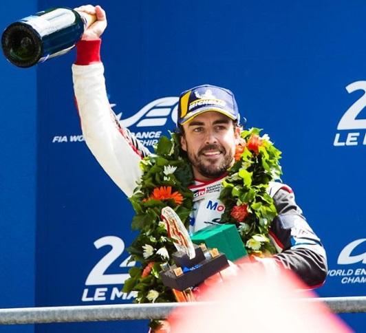 Fernando Alonso yang memperkuat Mclaren di Musim balap 2007