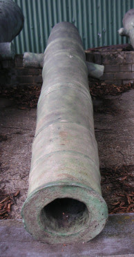Spanish Luzon Bronze Cannon