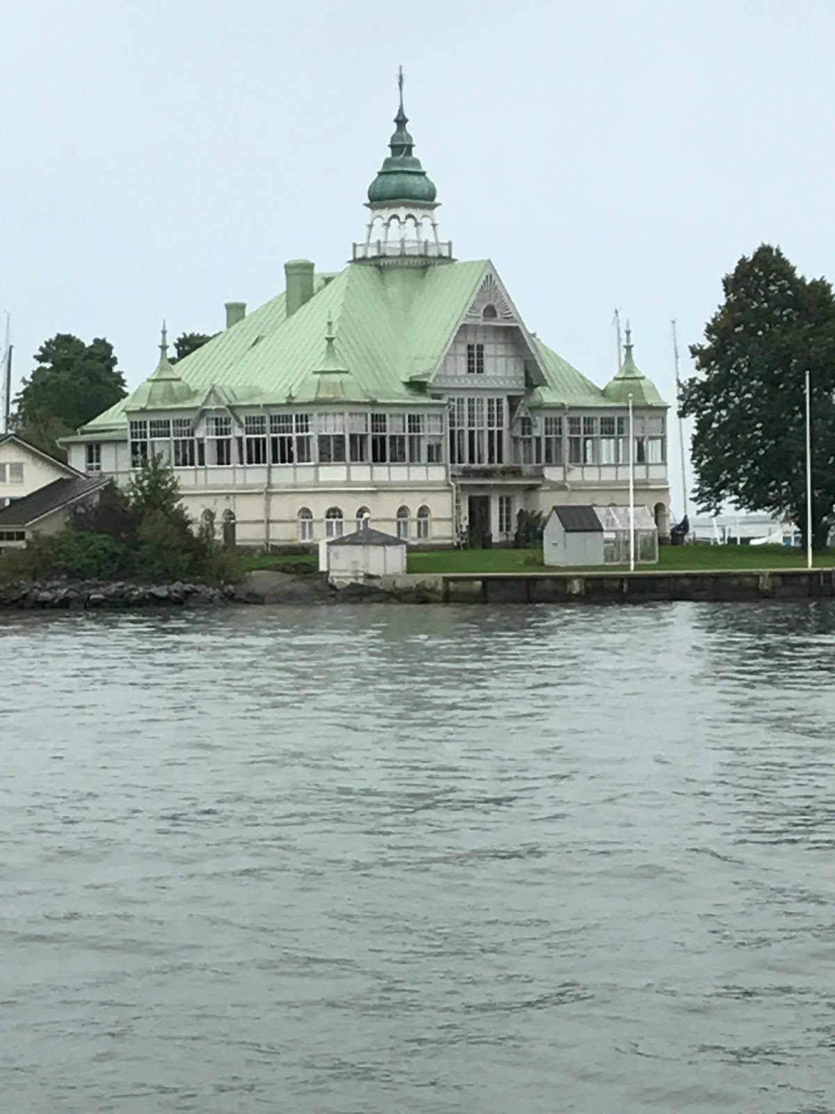 Ferryboat para Suomenlinna - Helsinki