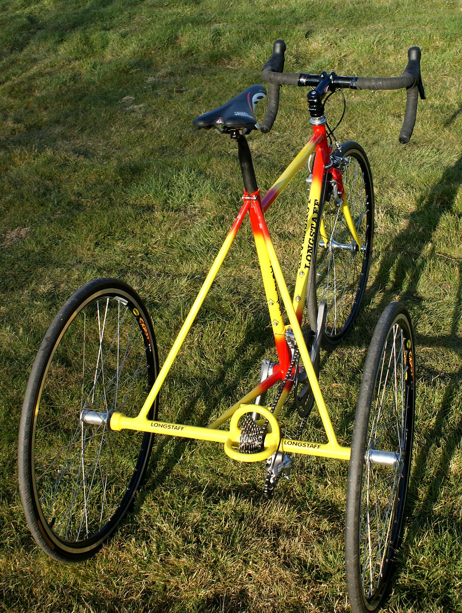 trikes and odd bikes 853 longstaff trike on ebay. Black Bedroom Furniture Sets. Home Design Ideas