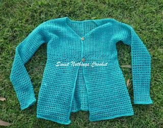 free crochet jacket pattern, free crochet cardigan pattern