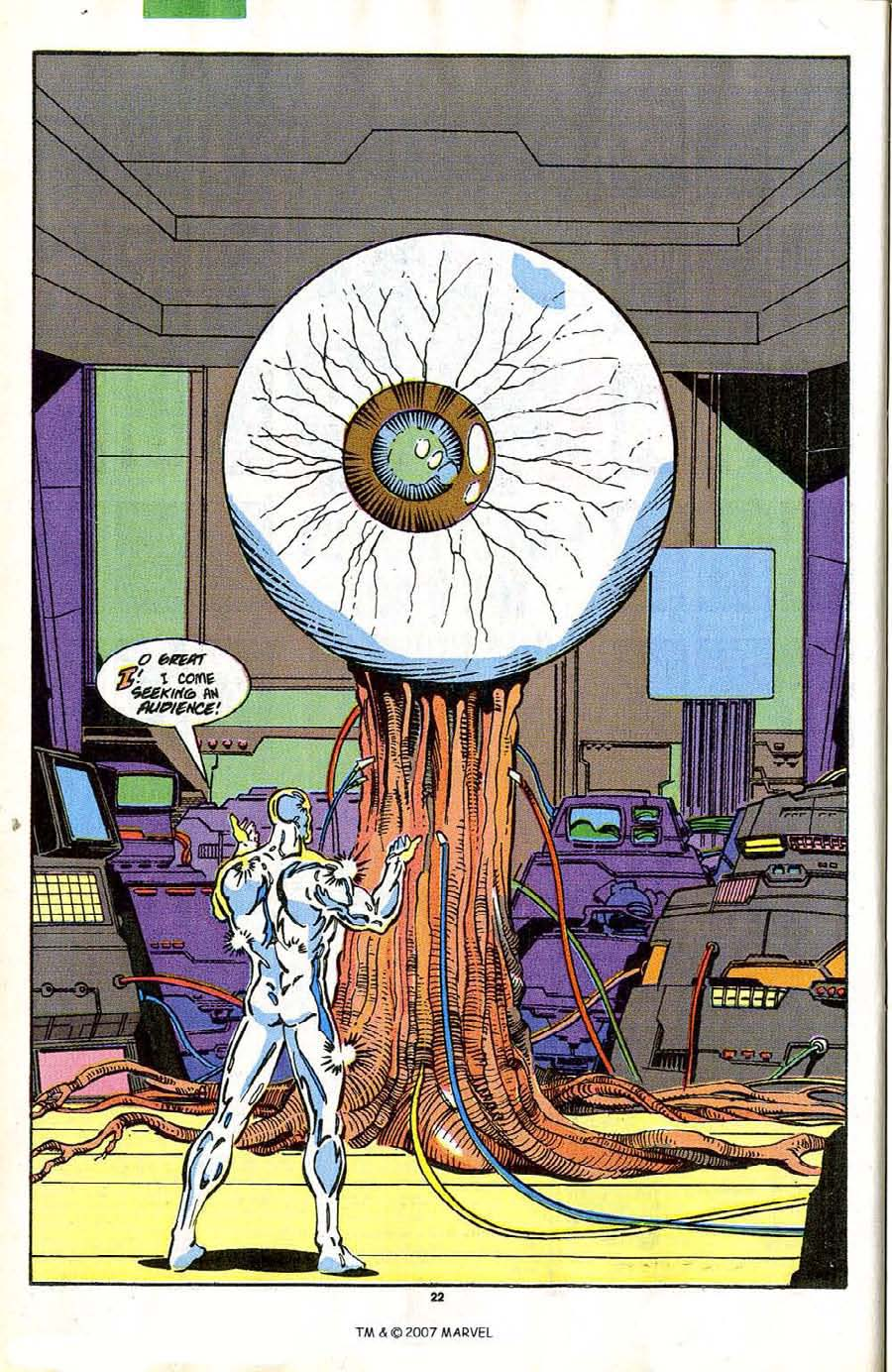 Read online Silver Surfer (1987) comic -  Issue #42 - 24