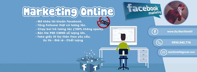 [PSD BÌA] Marketing Online - Marketing Facebook