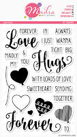 Image result for mudra craft love forever stamps set