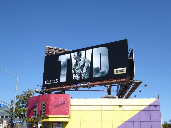 The Walking Dead season 6 billboard