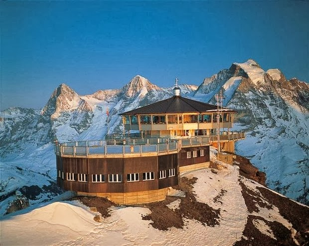 Piz Gloria, Schilthorn Summit, Mürren, Switzerland