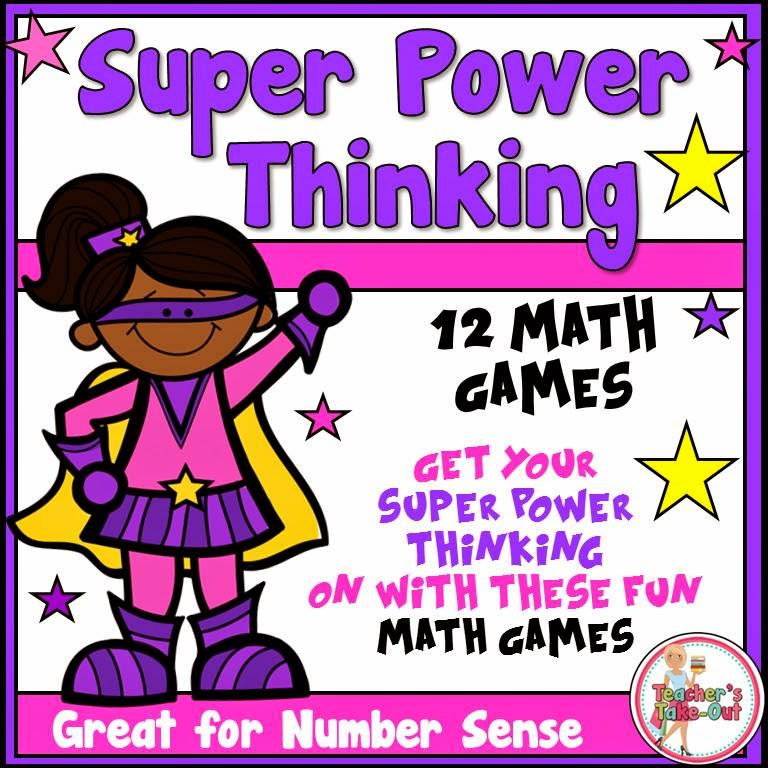 Super Power Thinking Games_super kids