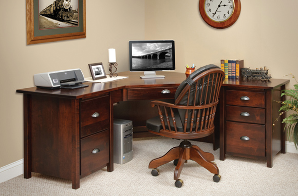 29 Perfect Home Office Corner Desks | yvotube.com