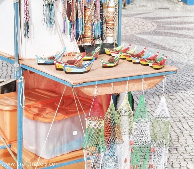 portugalskie rękodzieło, wyrob z ici, wyroby z sieci rybackiej, pamiątki z Portugalii