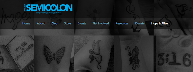 Screen grab of projectsemicolon