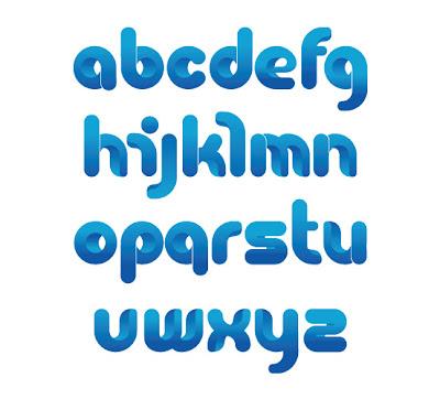 fuente de letras