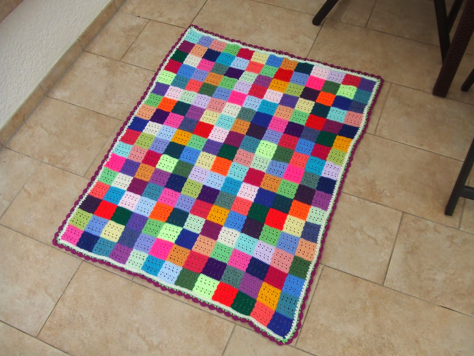 My World Of Crochet Farbwechsel In Der Stäbchenreihe Tutorial