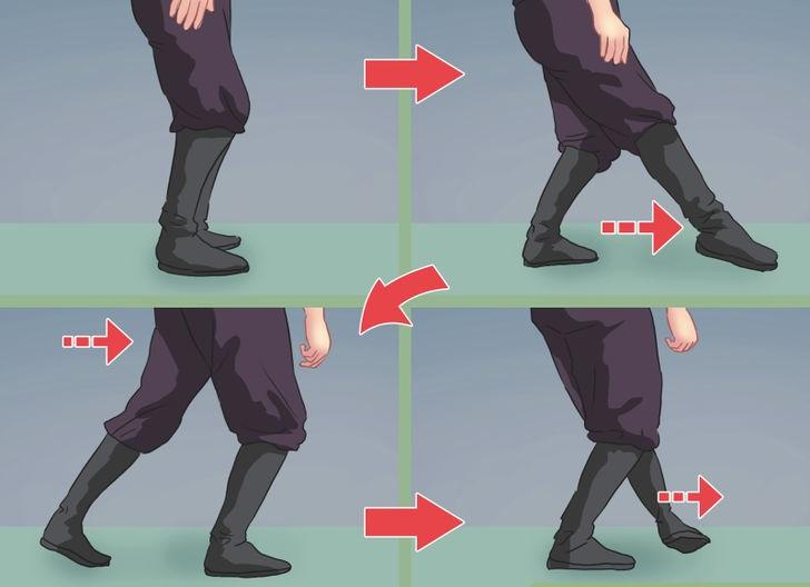 resimli ninja hareketleri