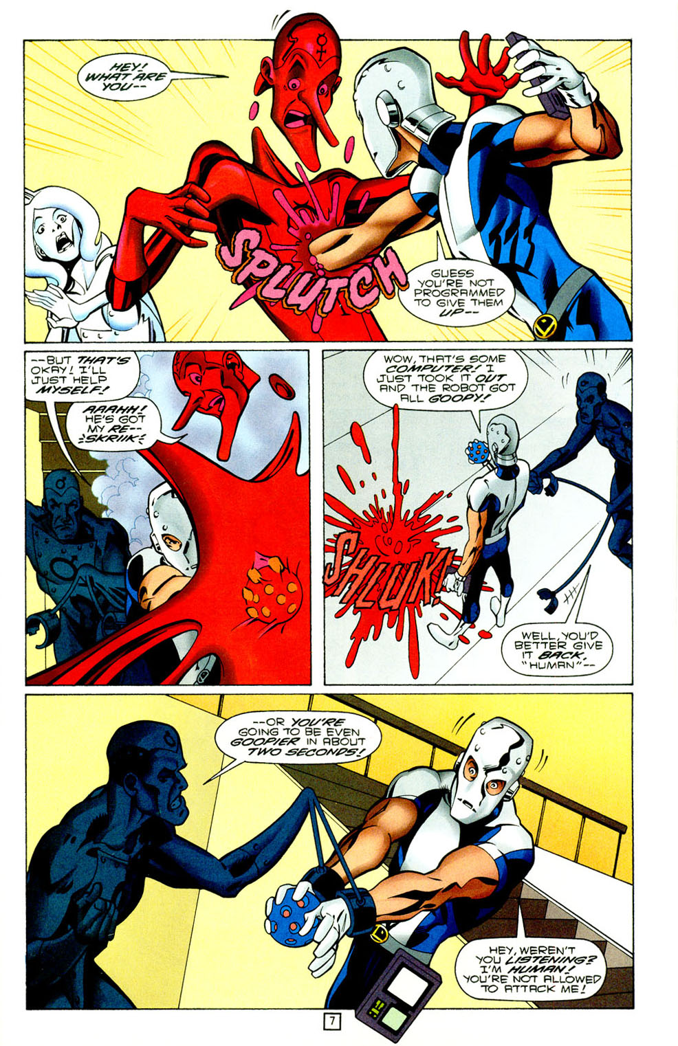 Legion of Super-Heroes (1989) 95 Page 7