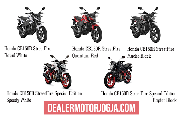 Promo Harga Terbaru Cash – Kredit Honda CB150R StreetFire September 2016 Jogja