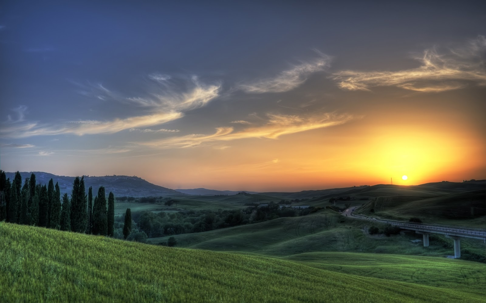 Tuscany Landscape Italy 11 Pic Awesome Pictures