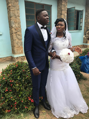 Nigerian couple marries after 17 years of dating