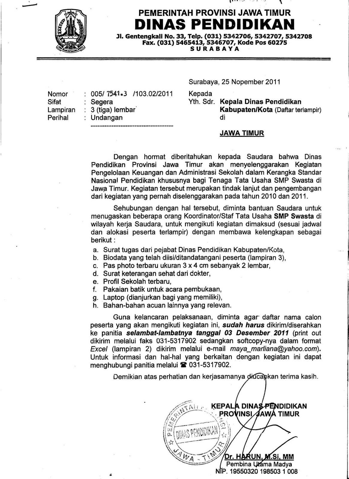 Adm Perkantoran Setunggal Penggolongan Surat