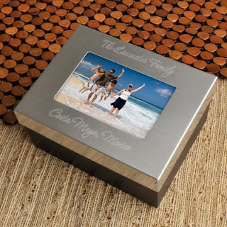 Personalized Photo Memory Box