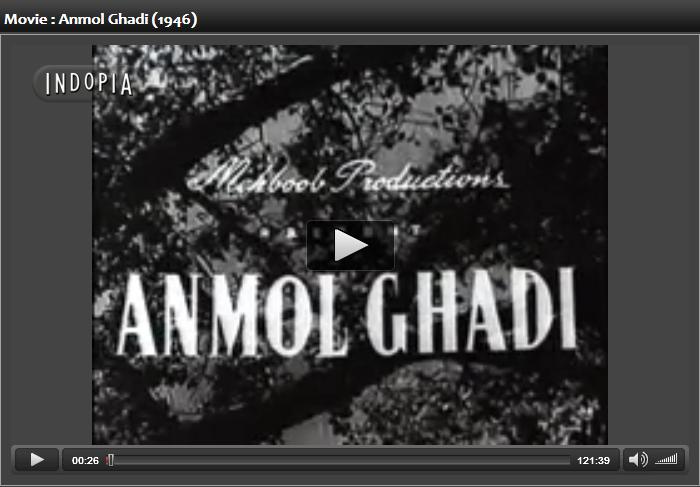 Anmol ghadi 1946 movie mp3 : Film samadhi