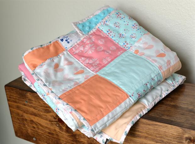 Kooky Life Baby Quilt Paperie Fabric Amy Sinibaldi