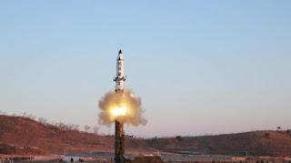 Uji Rudal Korea Utara