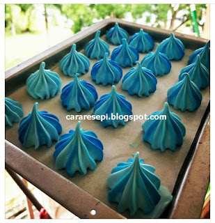 Resepi Meringue Kisses Tanpa Cream Of Tartar