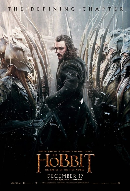 New series of Posters for The Hobbit 3 The Battle of the ...