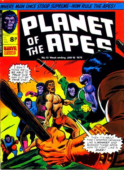 Marvel UK Planet of the Apes #13, Jason and Alexander