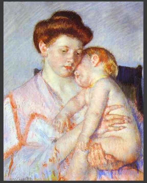 Tales of autumn: Paintings: Mother and child