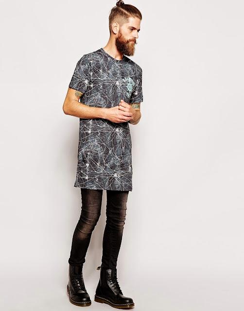 LongLine T-Shirt e Oversized Tee, com usar calça jeans com bota masculina, como usar coturno