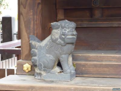 恵美須神社狛犬