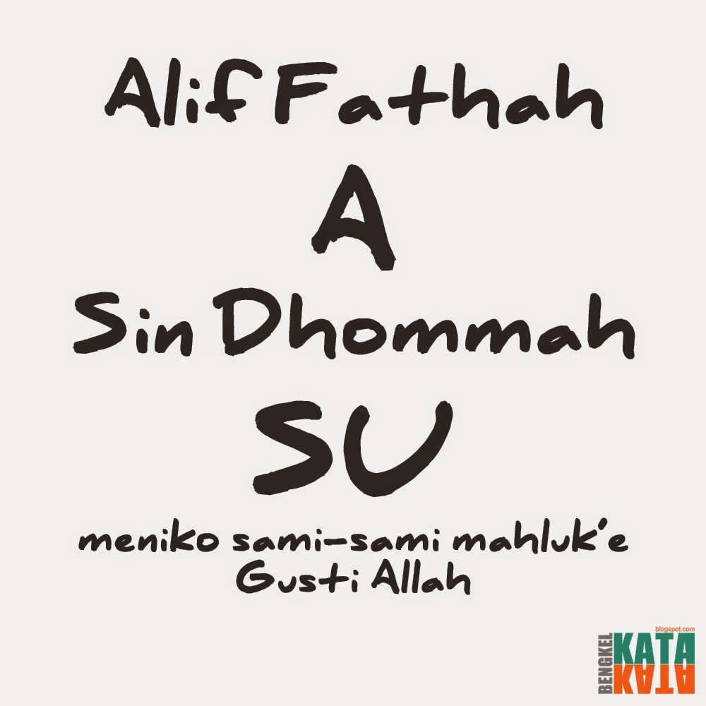 DP BBM Alif Fathah A Sin Dhommah SU BENGKEL KATA KATA