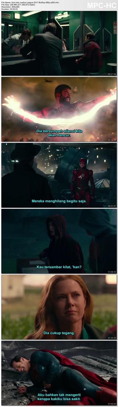 Screenshots Movie Sub.Indo.Justice League.2017.BluRay.480p.x265.mkv
