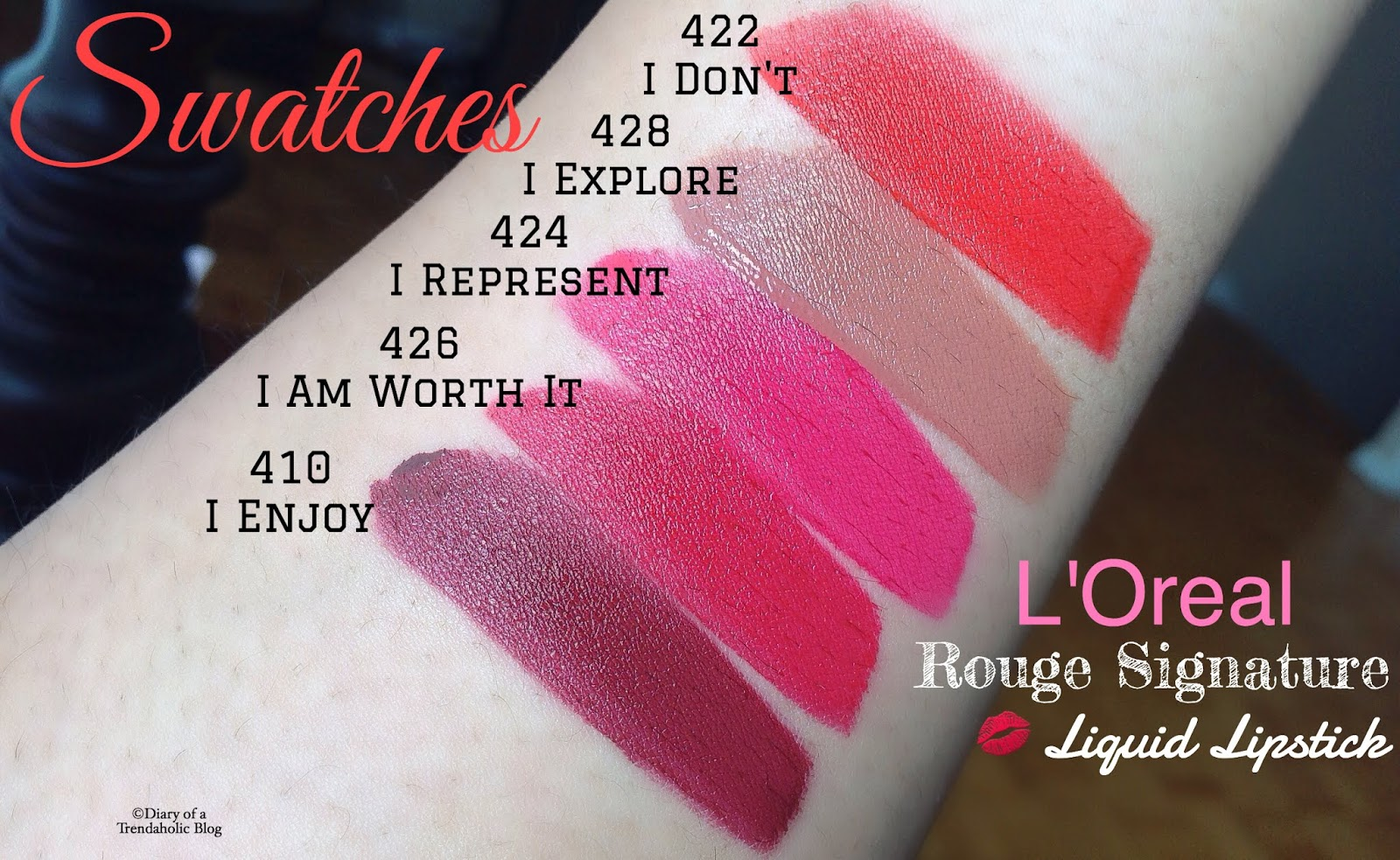 Rouge Signature Matte Lip Stain by L'Oreal #11