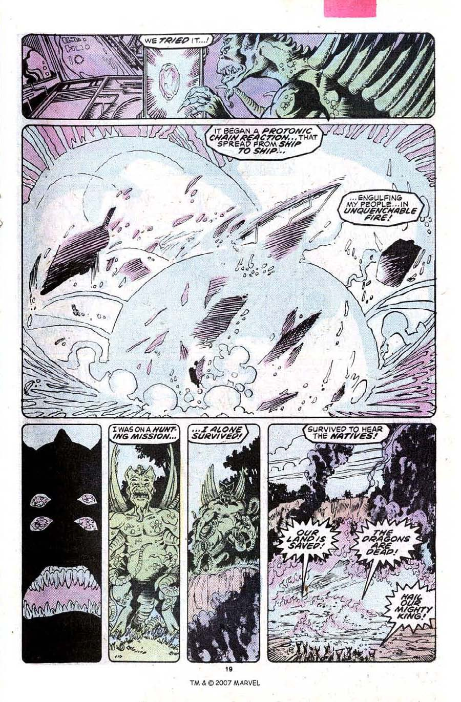 Read online Silver Surfer (1987) comic -  Issue #23 - 21