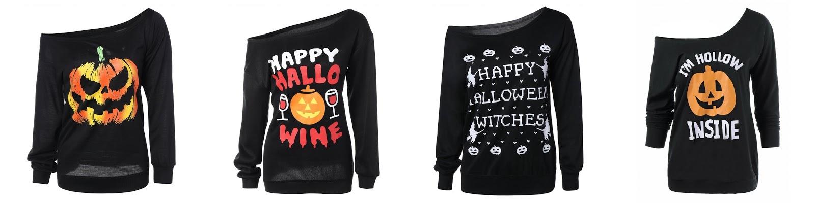 dresslilly na halloween przeglad oferty sklepu review bluzy