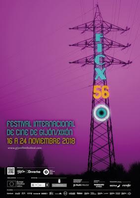 Cartel de la 56 Edición del Festival Internacional de Cine de Gijón