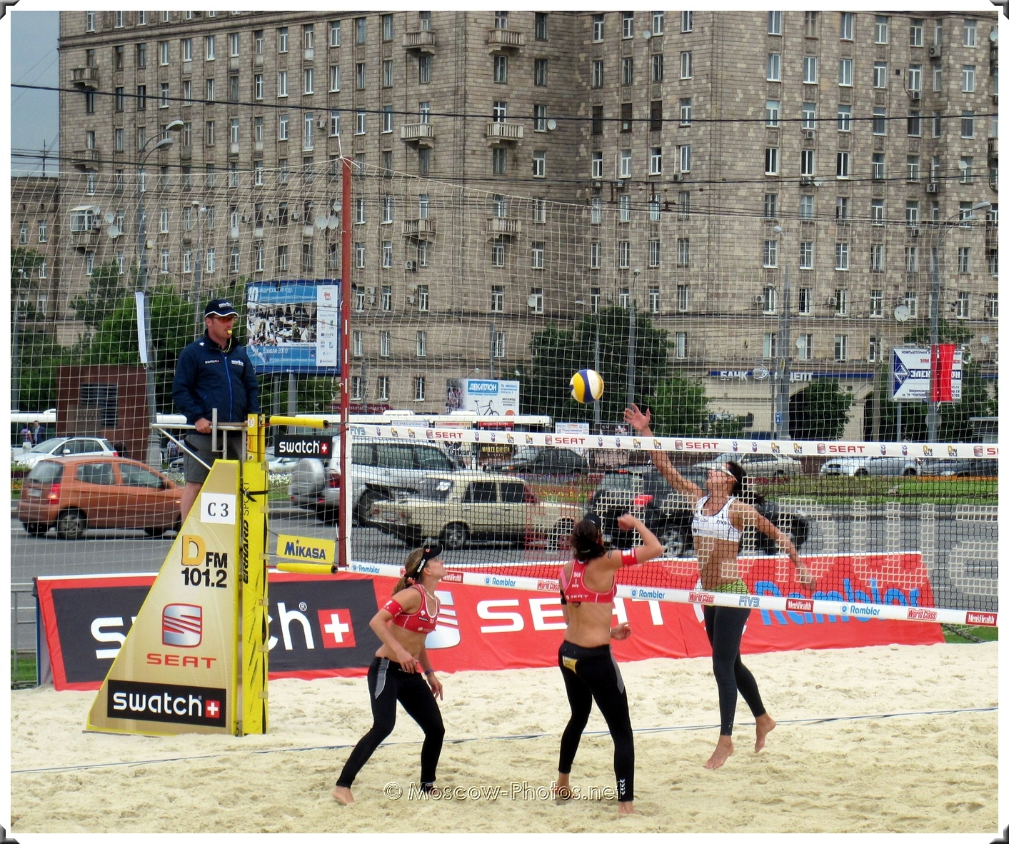 Moscow Beach Volleyball SWATCH World Tour 2010
