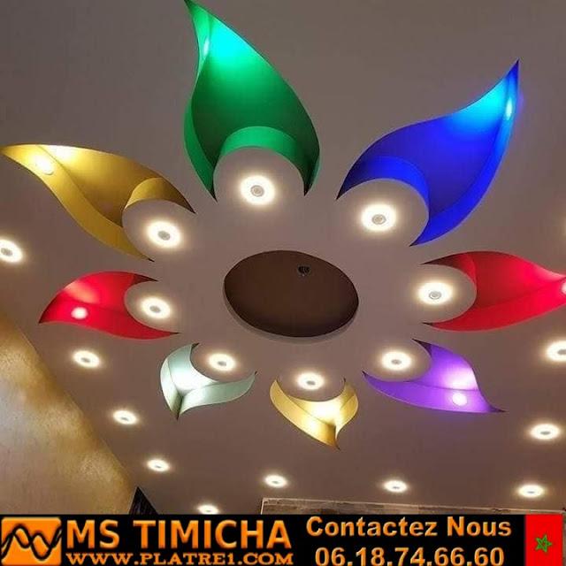 decoration platre salon marocain 2019