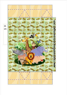 Cajas de La Selva Bebés para imprimir gratis.