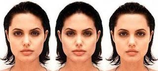 Одна половина лица отличается от другой